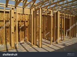 Floor Joist Size Residential by Interior Framing Second Floor Joists Stock Photo 1897329
