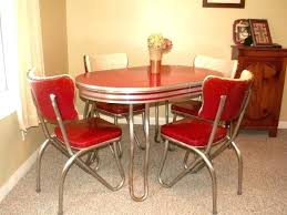 Retro Diner Chairs For Sale Uk Dining Table Sets Awesome Set Chrome Kitchen And Chair Vintage Chro