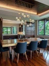 Rustic Industrial Dining Room Lighting Appealing Contemporary With Modern Rooms Bewitching Roo