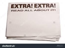 Newspaper Blank Clipart