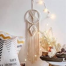 de knupfer makramee wandbehang boho deko