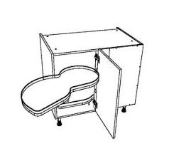 meuble bas d angle cuisine meuble bas d angle en chêne pour cuisine équipée largeur 90 cm