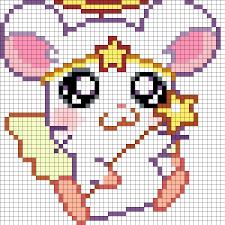 Halloween Perler Bead Projects by Cute Angel Hamster Part 1 Perler Bead Pattern Bead Sprite