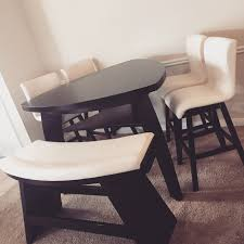 Raymour And Flanigan Kitchen Dinette Sets by Dining Tables Triangle Shaped Dining Table Sets Mardinny Counter