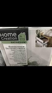 neu ovp home creation badezimmer seitenschrank 34 5 97 33 eiche