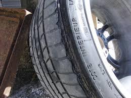 bmw one usure anormale pneu arrière