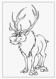 Trends For Disney Frozen Sven Coloring Pages