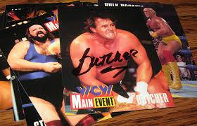 Halloween Havoc 1995 by J S Wrestling Memorabilia In 1995 The Main Event In Trading