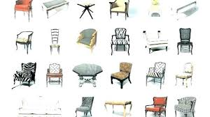 Types Of Dining Chairs Room Styles Furniture Style Tremendous