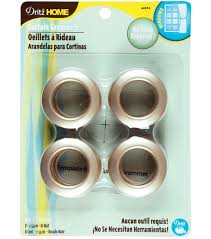 Dritz Curtain Grommet Kit by Curtain Grommets 1 U0027 U0027 8 Pkg Matte Gold Joann