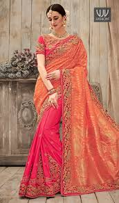 buy latest designer casual saree bollywood bridal