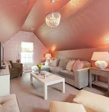 Rose Gold Bedroom Decor Platform Bed Pink Clothed Valance Purple Mattress Covers Blue Furry Rug Polyester Pale