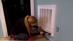 Decorative Air Conditioning Return Grille by How To Add Trim To Your Return Air Filter Youtube