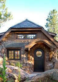 Stone Cottage Rustic Entry