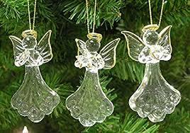 Amazon Glass Angel Ornaments