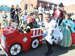 Hopewell's Harrison Just Keeps On Trucking In Homemade Halloween ...