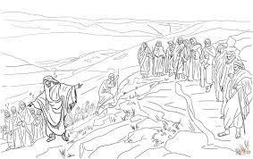 Coloring Download 12 Disciples Page Jesus Chooses Twelve Free Printable