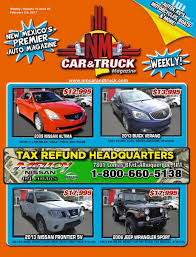 New Mexico Car And Truck Magazine Issue 05 By NM Car And Truck ... Your Hobbs New Mexico Chevrolet Dealer Buying A Used Car Or Truck From Craigslist How To Spot A Scammer Clovis Cheap Cars Under 1000 By Owner And For Sale In Gallup Nm Autocom Artesia Alternative Carlsbad Ab Sales Pickup Trucks Alburque Gallery Zia Auto Whosalers Dbs Salvage Cmonster 2012 Ford Svt Raptor Built Ultimate Accsories Aerial Lifts Clark Equipment