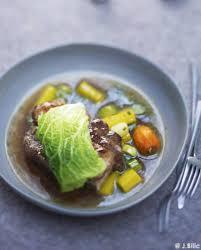 pot au feu et foie gras en feuille de chou pour 6 personnes