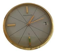 Bulova Table Clocks Wood by Vintage U0026 Used Clocks Chairish
