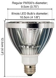 Illinois PAR30 LED Light Bulb – LED Waves