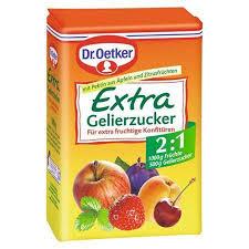 dr oetker gelierzucker 2 1 500 g