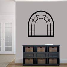 Susie85Electra Arched Window Frame Dining Room Kitchen Family Living Entryway Wall Decals Vinyl Decor