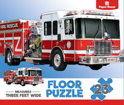 Amazon.com: Paper House Productions PUZ-4004E Floor Puzzle , Fire ... Melissa Doug Fire Truck Sound Puzzle Wooden Peg With 4 Kids Books Toys Orchard Big Engine 20piece Floor 800 Hamleys Particles Toy Eeering Fire Truck Aircraft Children Toy Vehicle Set Accsories Old World Amish Andzee Naturals Baby Vegas Lena 6 Pcs Babymarktcom Melissa And Doug Fire Truck Chunky Puzzle Puzzles Shop By Category Djeco Harmony At Home Childrens Eco Boutique Shop The Learning Journey Jumbo Rescue Creative Wooden Puzzle On White Royaltyfree Stock