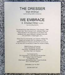 Walt Whitman The Wound Dresser Poem Analysis by File Dupont Circle Metro North Entrance Sign Jpg Wikimedia Commons