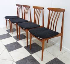 Set Of Four Dining Chairs Mcm Black Seat Fabric 1960s Four Ding Chairs In Stain Beech Teak Upholstered With Black Leatherette Art Nouveau Or Deco Shield Back Antique Ding Chairs Set Of Vintage Four By Helge Sibast For Early 19th Century Round Bdmeier Table Moes Home Collection Calvin Sadlers Johannes Andersen Denmark Circa 1950 Victorian Walnut The Shop Fashionchrystal Setfour Includedtransparent 5 Pc Counter Height Room Setpub And 4 East West Fniture Mid Modern Lawrence Peabody
