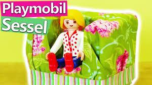 playmobil sessel basteln wohnzimmer ideen für playmobil figuren sofa selber machen diy