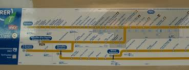 rer c porte de clichy to chateau versailles by by