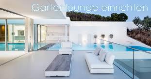 gartenlounge einrichten tipps für die lounge im grünen