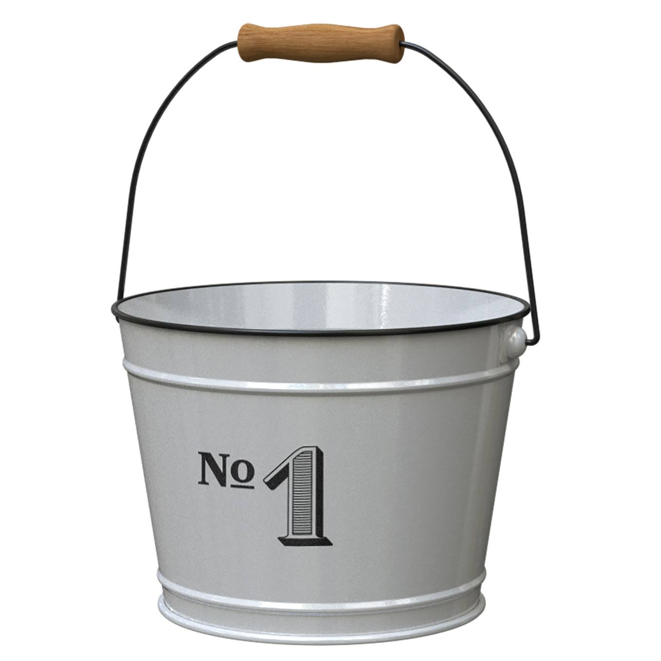 Panacea Vintage Milkhouse Planter Bucket - #1, Large