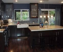 dark kitchen cabinets with medium hardwood floors quicua com