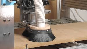 Dust Collector Floor Sweep by A Simple Router Sled To Flatten Walnut Live Edge Slabs