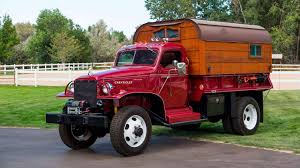 100 Commercial Truck Auction Chevy WWII Army Converted Into Camper Goes To