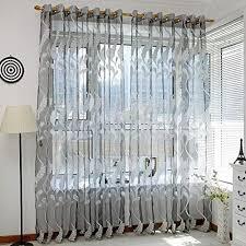 Schlafzimmer Vorhã Nge Tonsee Transparent Voile Gardinen Mode Lange Gedruckt