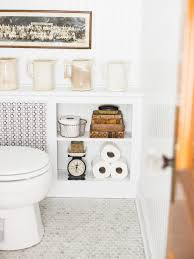 Floor To Ceiling Tension Rod Shelves by 10 Clever Ways To Organize Decorate With Tension Rods Hgtv