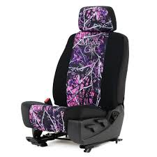 Moon Shine Muddy Girl® Neoprene Low Back Bucket Seat Cover W ...