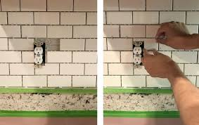 installing a subway tile backsplash for 200 house