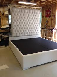 Skyline Tufted Headboard King by Bedroom Tufted Headboards Tall Headboard King Also West Elm Purple