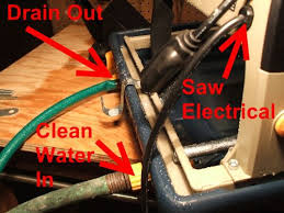 Tile Saw Water Pump Not Working by How To Use Wet Tile Saw And Safety Tips