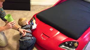 Corvette Toddler Bed by Kirby Jr And The Corvette Bed Youtube