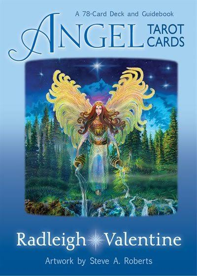Angel Tarot Cards: A 78-Card Deck and Guidebook - Radleigh Valentine