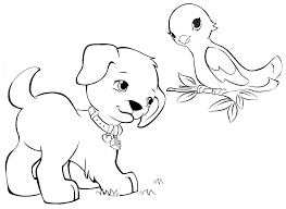 LEGO Friends Coloring Pages Pets From Heartlake City