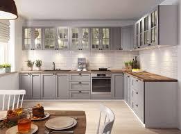 küche küchenzeile eckküche landhaus lina grau soft individuell stellbar