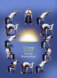 Sun Salutation Chair Yoga By Casey