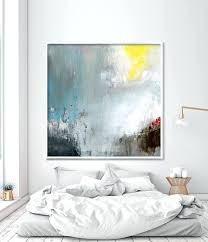 Bedroom Art Paintings Large Abstract Painting Print Dining Room Wall