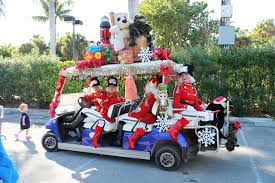 Captiva Holiday Village s Decorated Golf Cart Parade winners announced